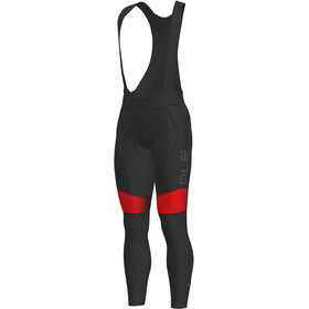 Alé Cycling PR-S Dots WR Culotte largo con tirantes Hombre, black-red